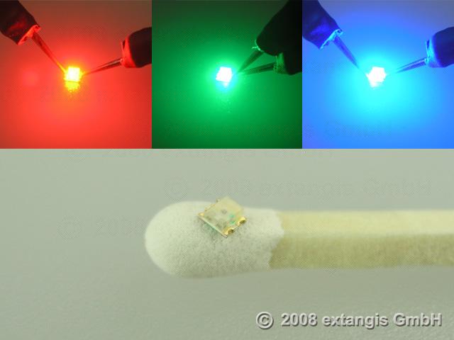Indexbild 2 - SMD LED 0605 2chip 3chip Doppelfarben gegurtet double multi colour bi duo